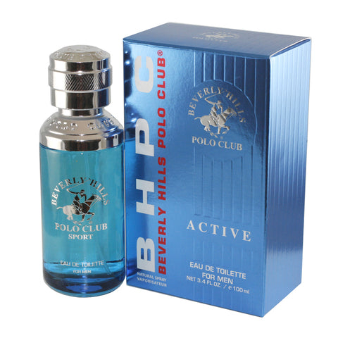 BPS3M - Beverly Hills Polo Club Sport Eau De Toilette for Men - Spray - 3.4 oz / 100 ml