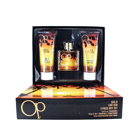 OPG35M - Op Gold 3 Pc. Gift Set for Men