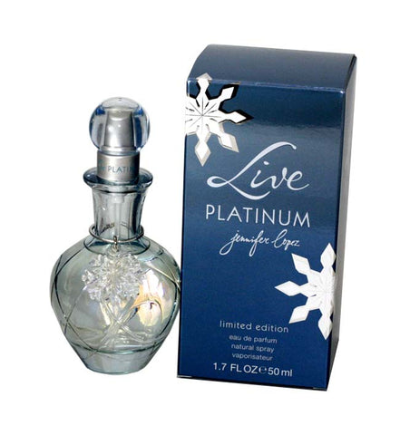 LIP26 - Live Platinum Eau De Parfum for Women - Spray - 1.7 oz / 50 ml - Limitied Edition