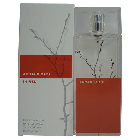 ARM16 - Armand Basi In Red Eau De Toilette for Women - Spray - 3.4 oz / 100 ml