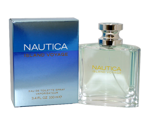 NIV27M - Nautica Island Voyage Eau De Toilette for Men - Spray - 3.4 oz / 100 ml