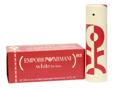 EM41M - Emporio Armani White Eau De Toilette for Men - Spray - 3.4 oz / 100 ml