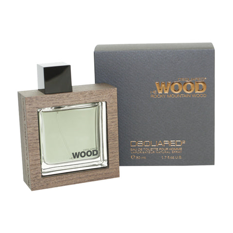 DESW16M - Dsquared2 He Wood Rocky Mountain Wood Eau De Toilette for Men - 1.7 oz / 50 ml Spray