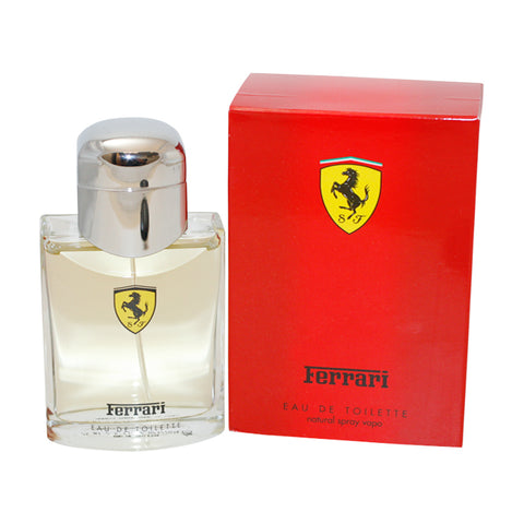 FE211M - Ferrari Red Eau De Toilette for Men - Spray - 2.5 oz / 75 ml