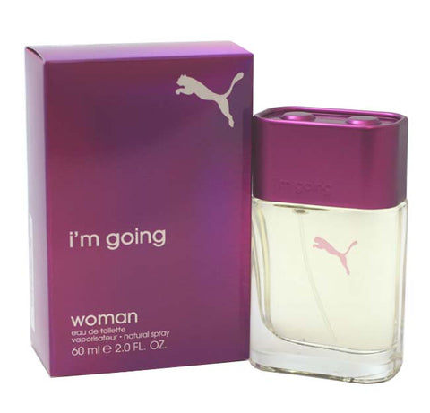 PUM22 - Puma I'Am Going Eau De Toilette for Women - Spray - 2 oz / 60 ml
