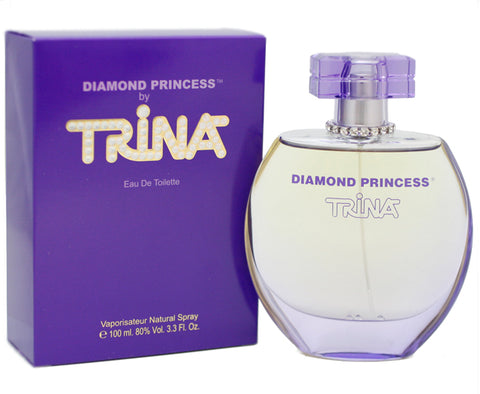TRIN14 - Diamond Princess Eau De Toilette for Women - Spray - 3.3 oz / 100 ml