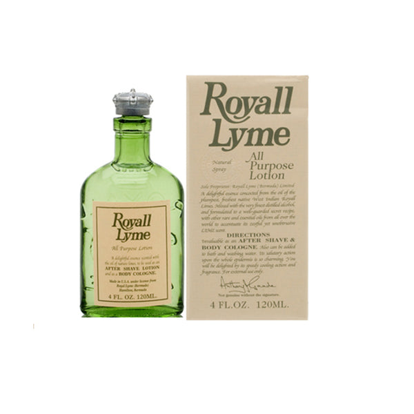 R992M - Royall Lyme Of Bermuda Cologne Aftershave for Men - Spray/Splash - 4 oz / 120 ml
