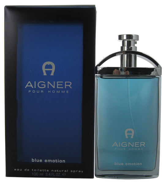 AIG26-P - Aigner Blue Emotion Eau De Toilette for Men - Spray - 3.4 oz / 100 ml