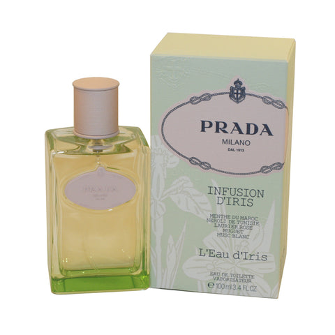 PLI15 - Prada Infusion D' Iris L'Eau D'Iris Eau De Toilette for Women - Spray - 3.4 oz / 100 ml