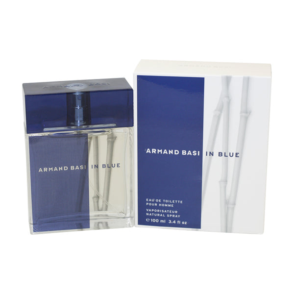ARM17M - Armand Basi In Blue Eau De Toilette for Men - 3.4 oz / 100 ml Spray