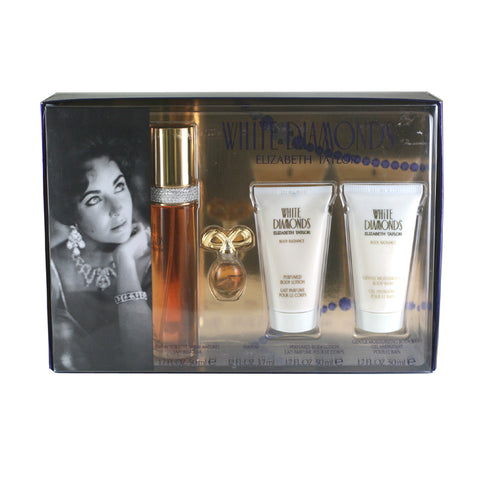 WH111 - White Diamonds 4 Pc. Gift Set for Women