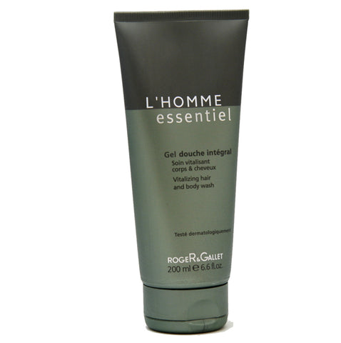 LH21M - L'Homme Essentiel L'homme Essentiel Vitalizing Hair & Body Wash for Men - 6.6 oz / 200 ml