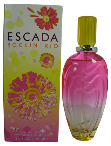 ESR33 - Escada Rockin Rio Eau De Toilette for Women - 3.3 oz / 100 ml Spray