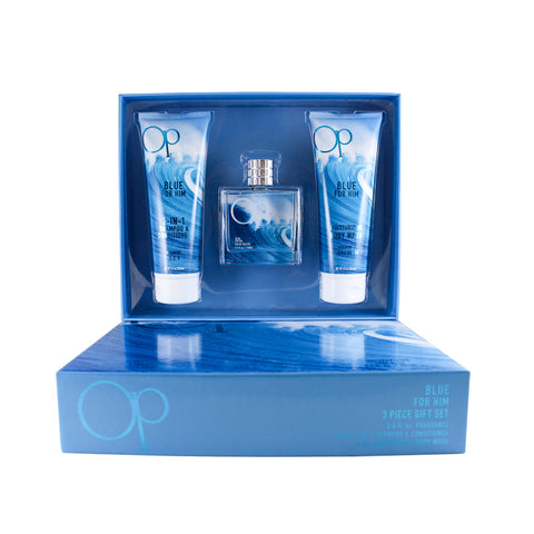 OPBL35M - Op Blue 3 Pc. Gift Set for Men