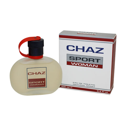 CHA11W-F - Chaz Sport Eau De Toilette for Women - 3.4 oz / 100 ml Spray