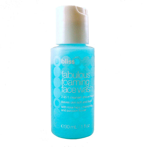 BLS49 - Fabulous Foaming Face Wash Cleanser for Women - 1 oz / 30 ml