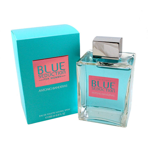 BS26 - Blue Seduction Eau De Toilette for Women - 6.8 oz / 200 ml Spray
