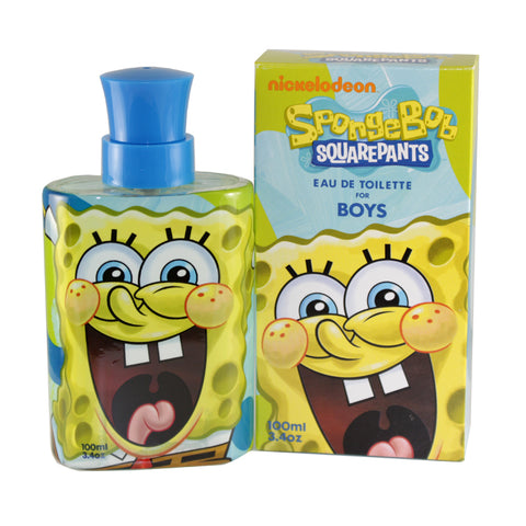 SPO3M - Spongebob Squarepants Eau De Toilette for Men - Spray - 3.4 oz / 100 ml