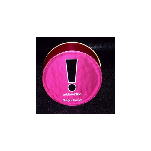 EX11 - Exclamation Body Powder for Women - 2.3 oz / 69 g - With Puff