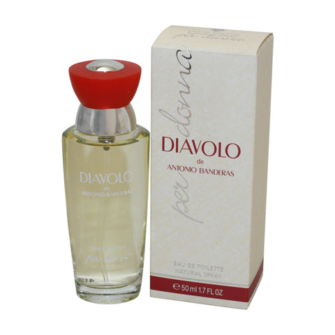DIV17 - Diavolo Per Donna Eau De Toilette for Women - Spray - 1.7 oz / 50 ml