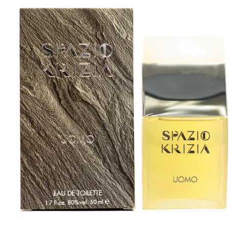 SP11M - Spazio Krizia Eau De Toilette for Men - Splash - 1.7 oz / 50 ml