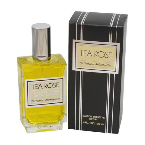 TE12 - Tea Rose Eau De Toilette for Women - 4 oz / 120 ml Spray
