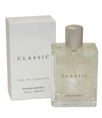 BAN34M - Classic Eau De Toilette for Men - Spray - 3.4 oz / 100 ml
