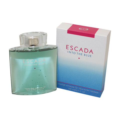 ESB15 - Escada Into The Blue Bath & Shower Gel for Women - 6.7 oz / 200 ml