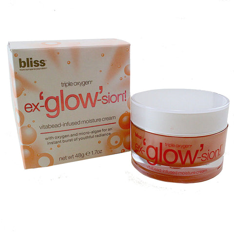 BLS43 - Ex-Glow-Sion Cream for Women - 1.7 oz / 48 g