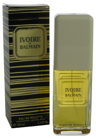 IV13 - Ivoire De Balmain Eau De Toilette for Women - Spray - 3.4 oz / 100 ml