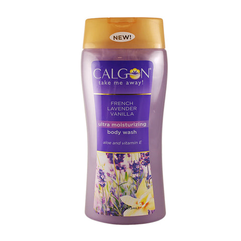 FLV6 - Calgon French Lavender Vanilla Body Wash for Women - 16 oz / 473 g
