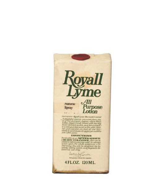 R992D - Royall Fragrances Royall Lyme Of Bermuda All Purpose Lotion for Men | 4 oz / 120 ml - Spray - Damaged Box