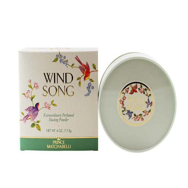 WI07 - Wind Song Dusting Powder for Women - 4 oz / 120 ml