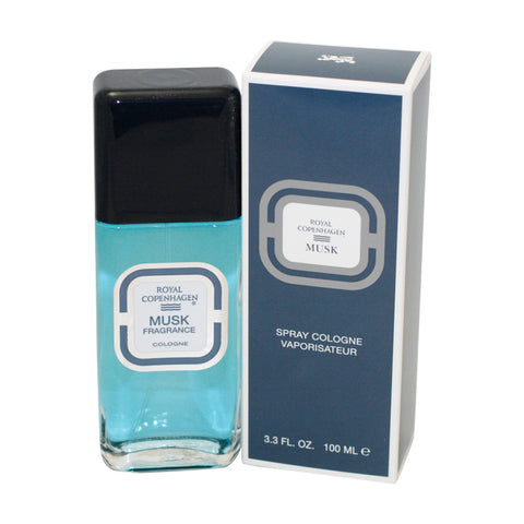 RO88M - Royal Copenhagen Musk Cologne for Men - 3.3 oz / 100 ml Spray