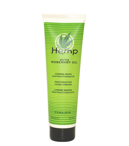 PG64W - Perlier Hemp With Rosemary Oil Hand Cream for Women - 5 oz / 150 ml