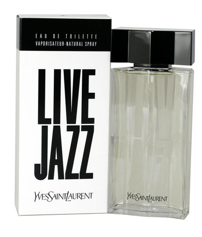 LI15M - Live Jazz Eau De Toilette for Men - Spray - 3.3 oz / 100 ml