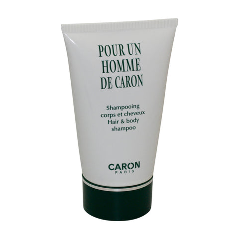 PO814M - Pour Un Homme Hair & Body Shampoo for Men - 4.2 oz / 125 ml - Tester