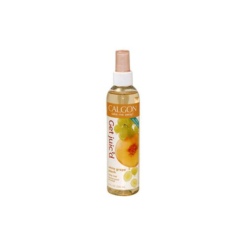 TAJ13 - Coty Calgon Take Me Away Get Juic'D White Grape Peach Body Mist for Women | 8 oz / 236 ml