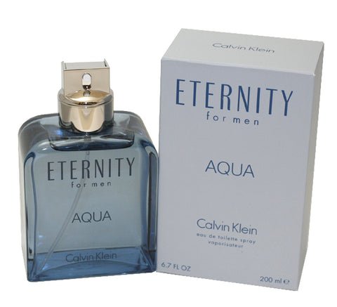 ETA6M - Eternity Aqua Eau De Toilette for Men - 6.7 oz / 200 ml Spray