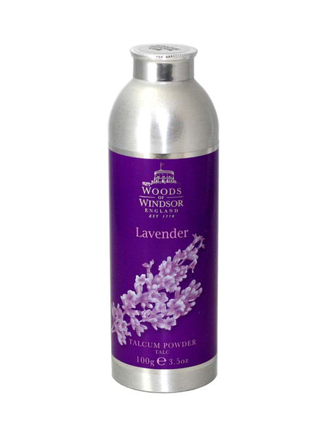 LAV56-P - Lavender Talcum Powder for Women - 3.5 oz / 105 g