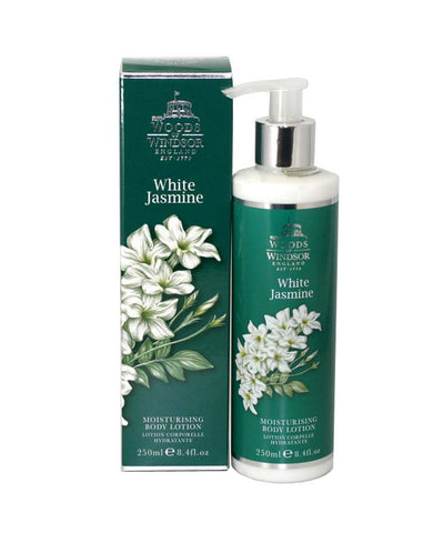 WHI84 - Woods of Windsor White Jasmine Body Lotion for Women 8.4 oz / 250 ml