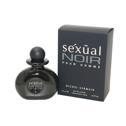 SEN42M - Sexual Noir Eau De Toilette for Men - 4.2 oz / 125 ml Spray