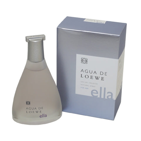 ALE34 - Agua De Loewe Ella Eau De Toilette for Women - Spray - 3.4 oz / 100 ml