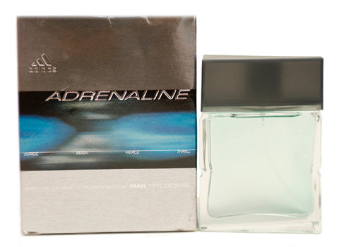 AD16M - Adidas Adrenaline Eau De Toilette for Men - Spray - 1.7 oz / 50 ml