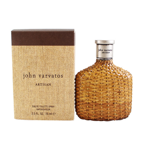 JVA25M - John Varvatos Artisan Eau De Toilette for Men - 2.5 oz / 75 ml Spray
