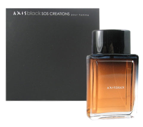 AX12M - Axis Black Eau De Toilette for Men - Spray - 3.4 oz / 100 ml