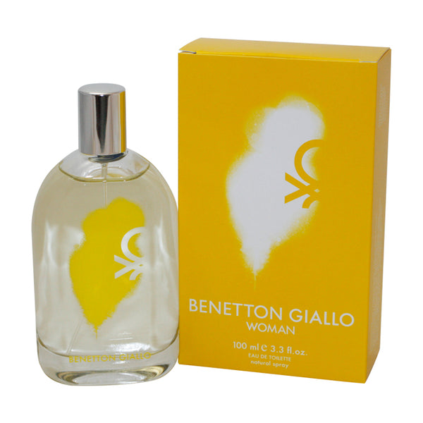 BG33 - Benetton Giallo Eau De Toilette for Women - 3.3 oz / 100 ml