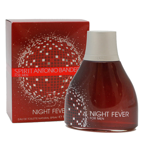 SNF3M - Spirit Night Fever Eau De Toilette for Men - Spray - 3.4 oz / 100 ml