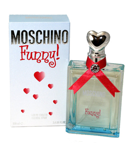 FUN13 - Moschino Funny Eau De Toilette for Women - 3.4 oz / 100 ml Spray