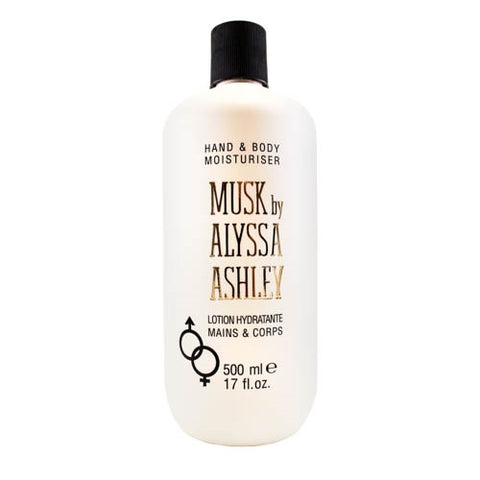 AL171 - Alyssa Ashley Musk Hand & Body Lotion for Women - 17 oz / 500 g